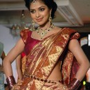 Amala Paul In Silk Jewelled Saree