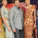Amala Paul Walks the Ramp In Silk Jewelled Saree