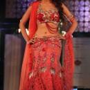 Mallika Sherawat Lehenga Choli At Aamby Valley Bridal Week 2011