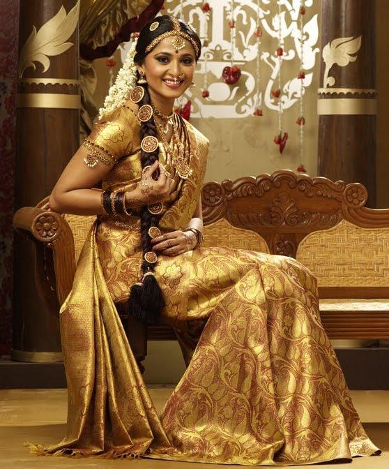 Anushka Shetty Chennai Silk Saree Advertisement (3
