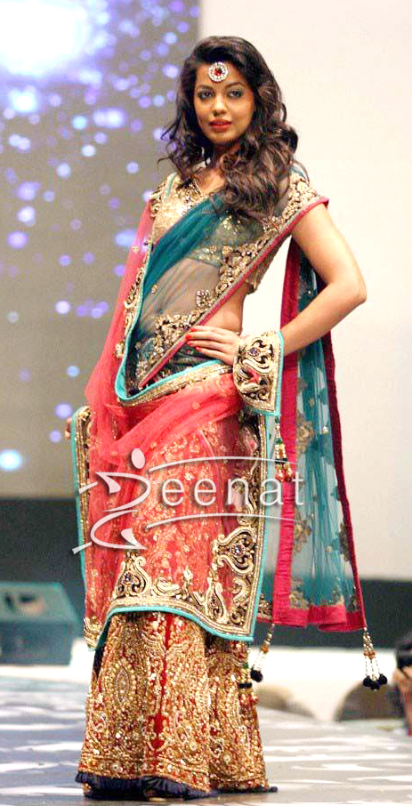 Mughda Godse In Designer Lehenga Choli