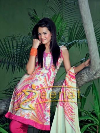 Nadia Hussain Capri Printed Suit