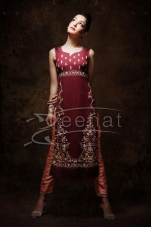 Nisha Paul Pakistani Capri Dress