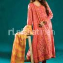 Nishat Linen Winter Collection 2011-2012 Karandi A-Line Kameez