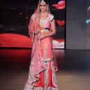 Genelia D'Souza Blenders Pride Fashion Tour 2011 Lehenga Choli