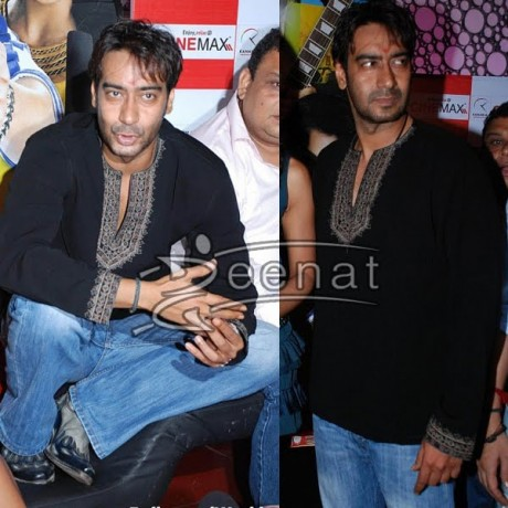 Ajay Devgan In Men's Casual Kurta