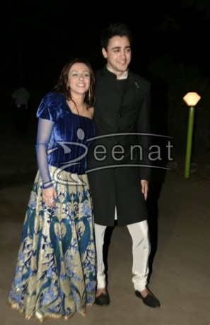 Imran Khan In Men's Black Sherwani