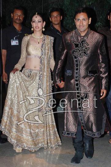 Parvin Dabas & Preeti Jhangiani Wedding Lehenga Choli