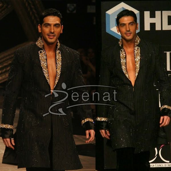 Zayed Khan In Crush Georgette Sherwani