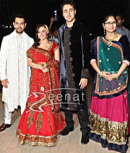Imran Khan Aamir Khan Sherwani Salwar Kameez