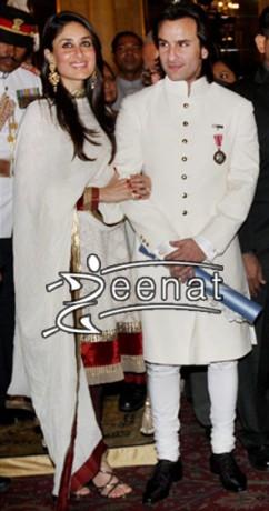 Kareena & Saif in kurta Shalwar