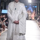 White Sherwani With Full Embroidery