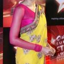 Bipasha Basu In Yellow And Pink Saree
