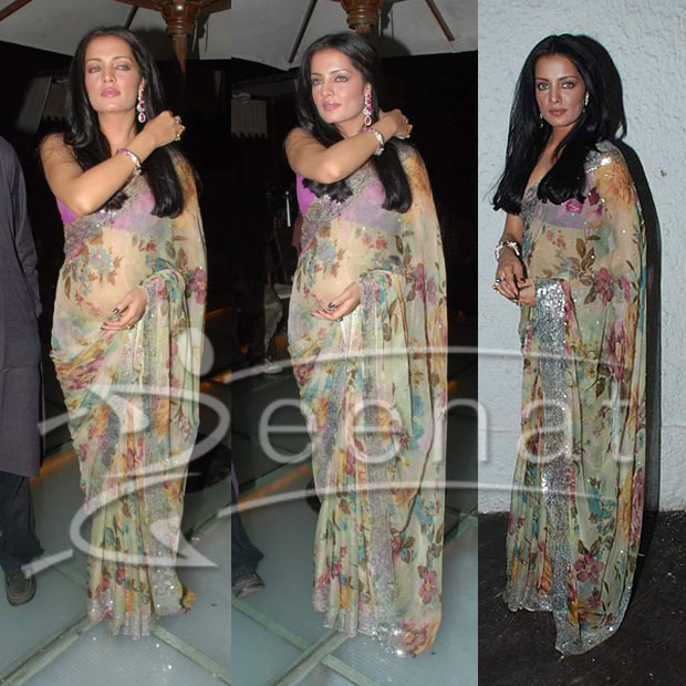 Celina Jaitley Indian Saree 1