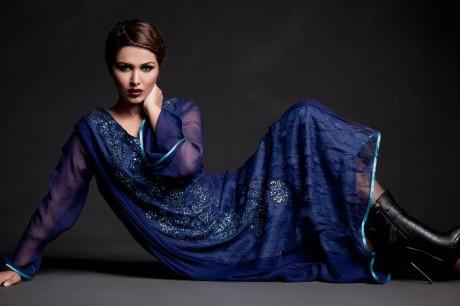 Crystallia Latest Party Wear Dresses 2012