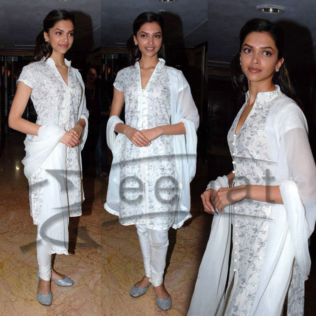 Deepika Padukone Churidar pajama
