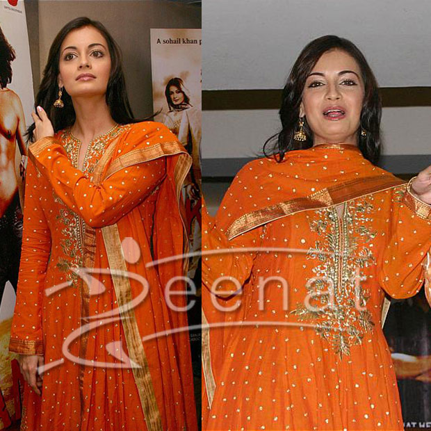 Dia Mirza Blushes In Asian Attire