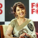 Madhuri Dixit Saree At Food Food Media Meet Stills