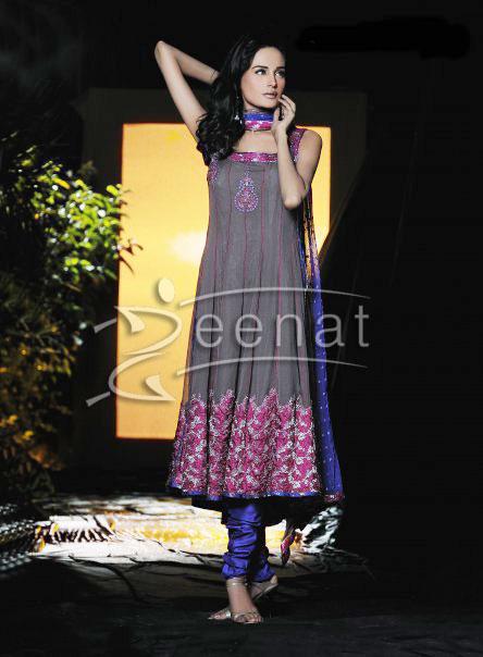 Mehreen Raheel Anarkali Churidar