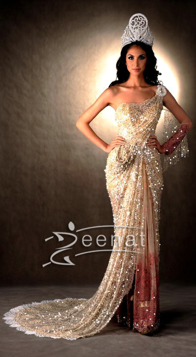 Miss-Universe-2012 | Saree Gown