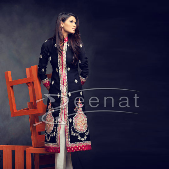 Neha Ahmed Capri Pajama Suite