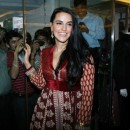 Neha Dhupia In Designer Long Shirt/Frock