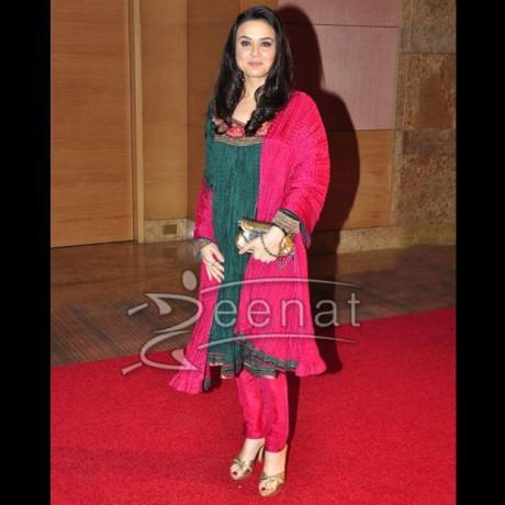 Preity Zinta Anarkali Churidar
