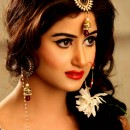 Sajal Ali Bridal Jewelry - Wedding Shoot