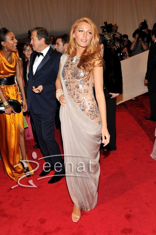 Blake Lively Sareesque Design