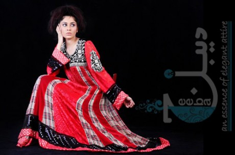 Deebaj | Chiffon Winter Collection 2011-2012