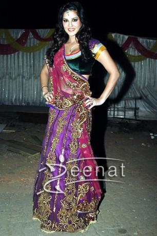 Sunny Leone Lehenga Choli