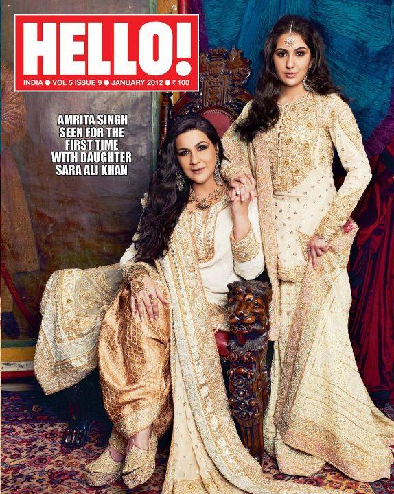 Bollywood Diva's for Hello Magazine