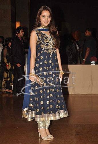Shazahn Padamsee at Genelia D Souza and Ritesh Deshmukh wedding