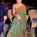 Celina Jaitley Printed Indian Saree