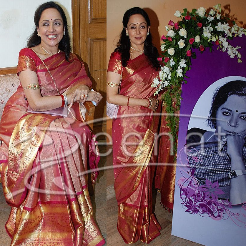 Hema Malini Indian Saree