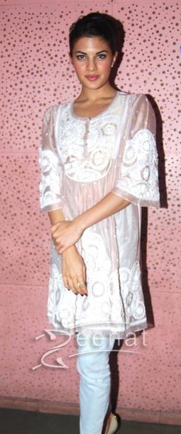 Jacqueline Fernandez In Casual Kurti