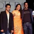 Sonakshi Orange Saree Lootera Movie Launch