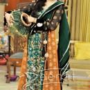 Shaista Wahidi Dresses Embroidered A-Line Kameez