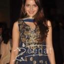 Shazahn Padamsee at Genelia D Souza and Ritesh Deshmukh wedding reception in Hotel Grand Hyatt Mumbai on-4th-Feb-2012