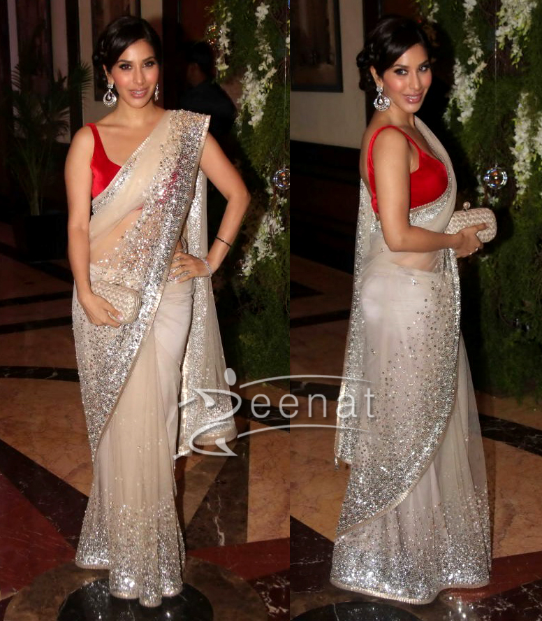 Sophie Chaudhary at Ritesh Genelia Wedding