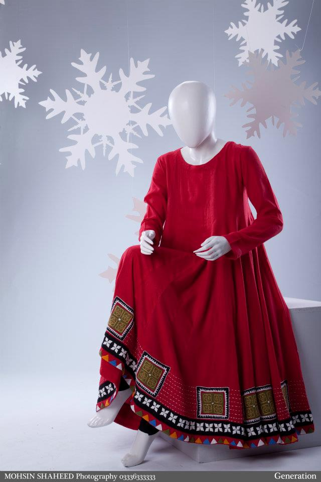 4ab59c898 Stylish-Winter-dresses-for-Girls-2012-by-Generation-3