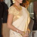 Asin Thottumkal Kerala Saree | Ritesh Genelia Wedding Photos
