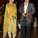 Jacqueline Fernandez with boyfriend Sajid Khan at Ritesh Deshmukh Genelia Wedding Reception at Hotel Grand Hyatt in Mumbai