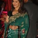 Actress Madhuri Dixit at Ritesh Deshmukh Genelia Wedding Reception