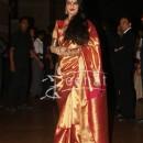 Rekha at Ritesh Deshmukh Genelina Wedding Reception at Hotel Grand Hyatt in Mumbai