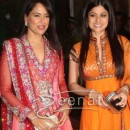 Shamita Shetty at Ritest and Genelia's Sangeet Ceremony