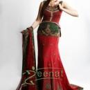 Aleena Khan In Designer Lehenga