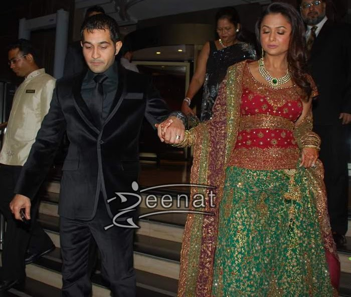 Amrita Arora In Bridal Lehenga Choli