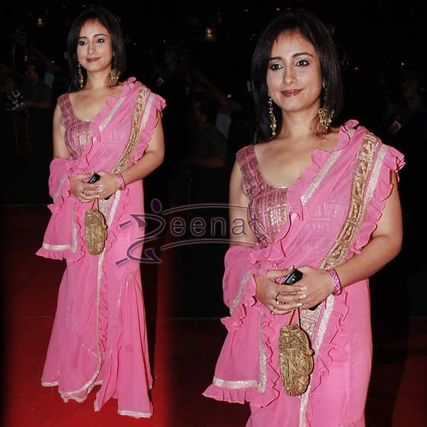 Divya Dutta In Saree Style