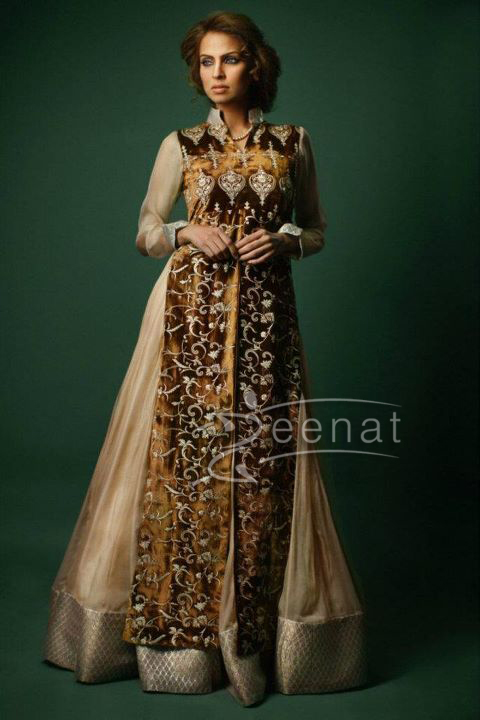 Fauzia Amir Parallel Dress | Threads And Motifs